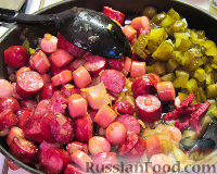 Фото приготовления рецепта: Лучший Айнтопф из квашеной капусты - шаг №2