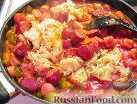 Фото приготовления рецепта: Лучший Айнтопф из квашеной капусты - шаг №3
