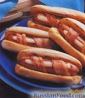 Фото к рецепту: Необычные хот-доги