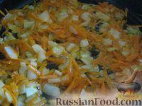 Фото приготовления рецепта: Салат из фасоли с печенью - шаг №4