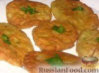 Фото к рецепту: Капустные оладьи