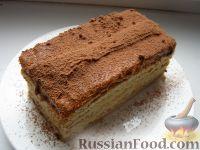 Фото к рецепту: Бисквитный торт с таврическим кремом