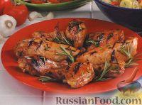 Фото к рецепту: Курица, приготовленная на гриле