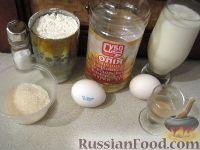 Фото приготовления рецепта: Оладушки на молоке - шаг №1