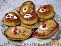 Фото приготовления рецепта: Оладушки на молоке - шаг №5