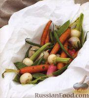 Фото к рецепту: Овощи, приготовленные на пару