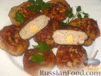 Фото к рецепту: Котлеты с сыром