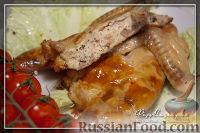 Фото к рецепту: Фаршированная куриная шейка. Гефилте гелзеле