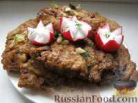 Фото к рецепту: Говяжья печень, жаренная в масле