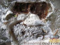 Фото приготовления рецепта: Говяжья печень, жаренная в масле - шаг №10