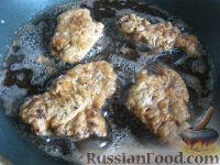 Фото приготовления рецепта: Говяжья печень, жаренная в масле - шаг №13