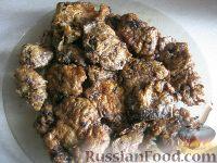 Фото приготовления рецепта: Говяжья печень, жаренная в масле - шаг №14