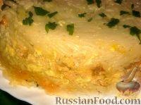 Фото к рецепту: Запеканка из вермишели и курицы