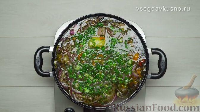 Фото приготовления рецепта: Шурпа - шаг №14