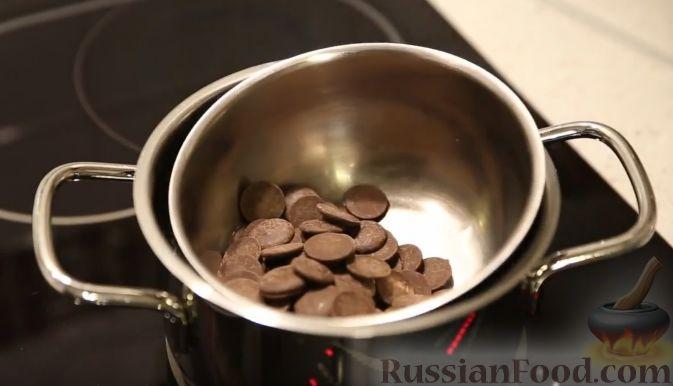 Фото приготовления рецепта: Клубника в шоколаде (четыре вкуса) - шаг №9