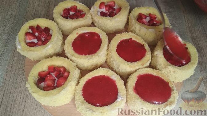 Фото приготовления рецепта: Домашние пирожные - шаг №14