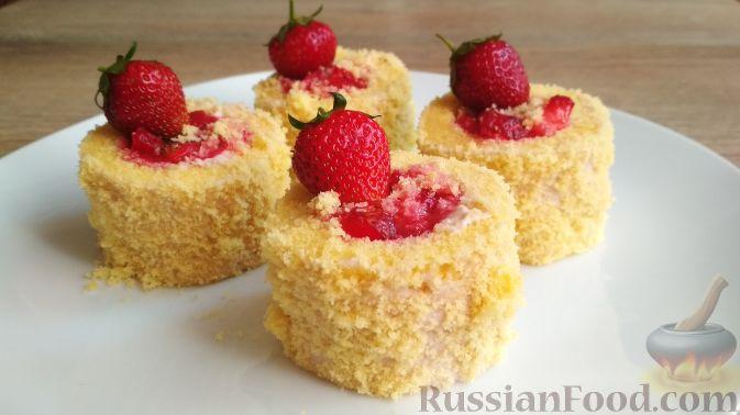 Фото приготовления рецепта: Домашние пирожные - шаг №20