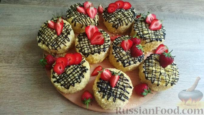 Фото приготовления рецепта: Домашние пирожные - шаг №21