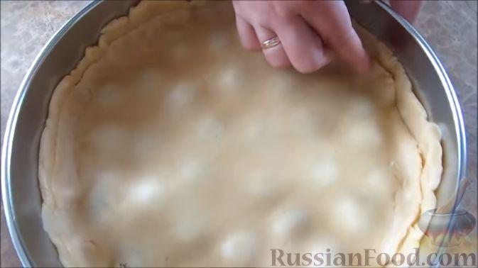 Фото приготовления рецепта: Запеканка из цветной капусты с колбасой и сыром - шаг №6