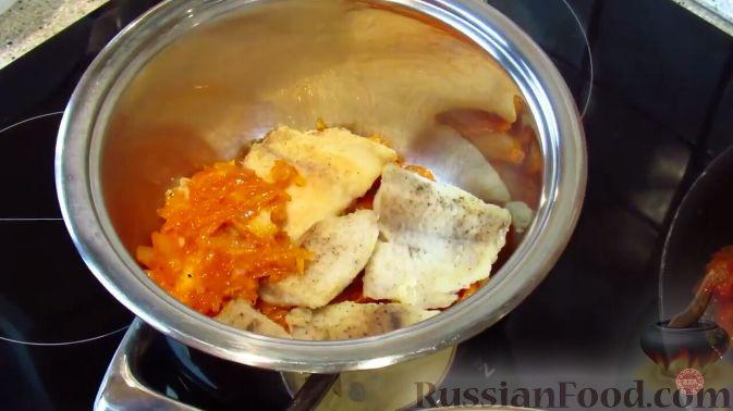 Фото приготовления рецепта: Кефирное желе с какао - шаг №5