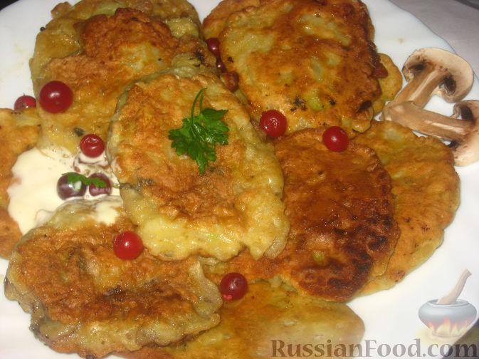 Рецепт Котлеты из капусты с грибами
