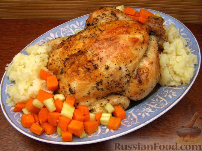 Рецепт Курица в фольге