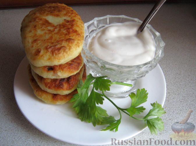 Рецепт Пирожки картофельные с мясом