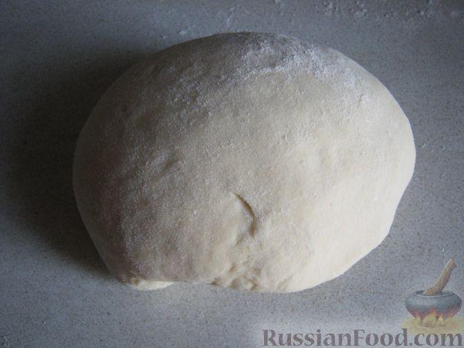 пирог с мясом и капустой пошаговый рецепт