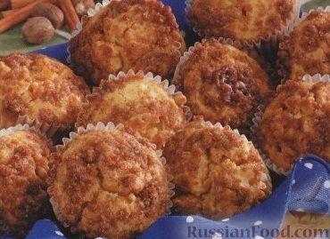 Рецепт Пряные маффины с тыквой