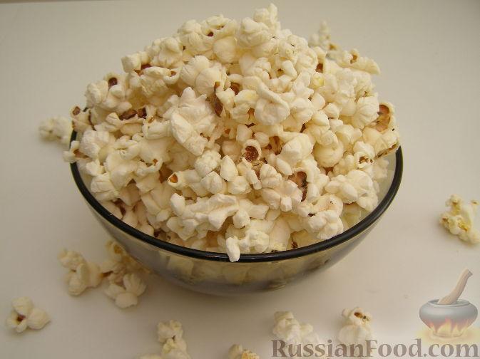Рецепт Попкорн в микроволновке