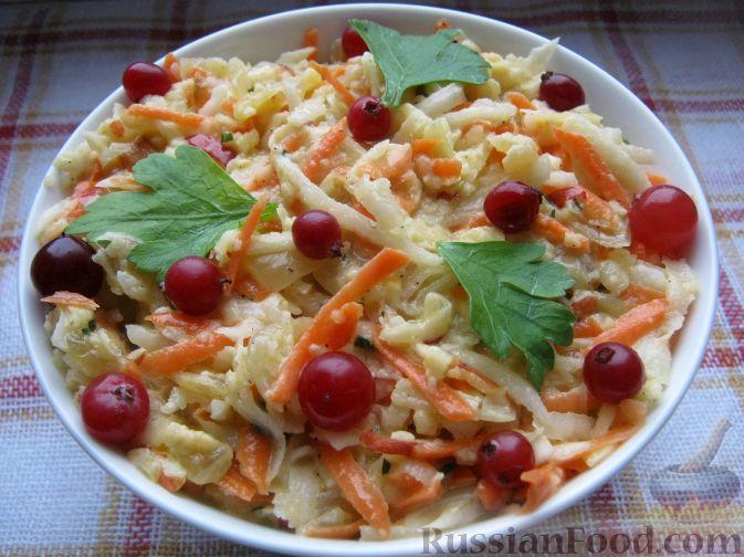 Рецепт Салат из редьки с майонезом