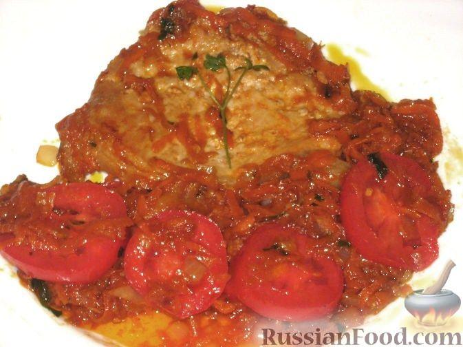 Рецепт Отбивные из свинины с томатами