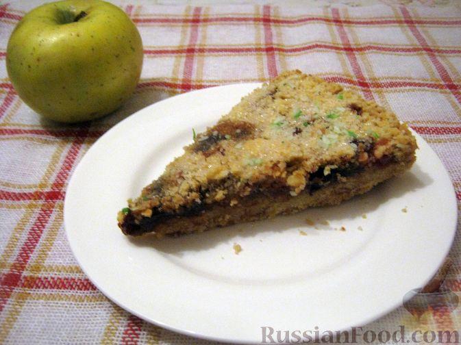 Рецепт Пирог с яблочным вареньем