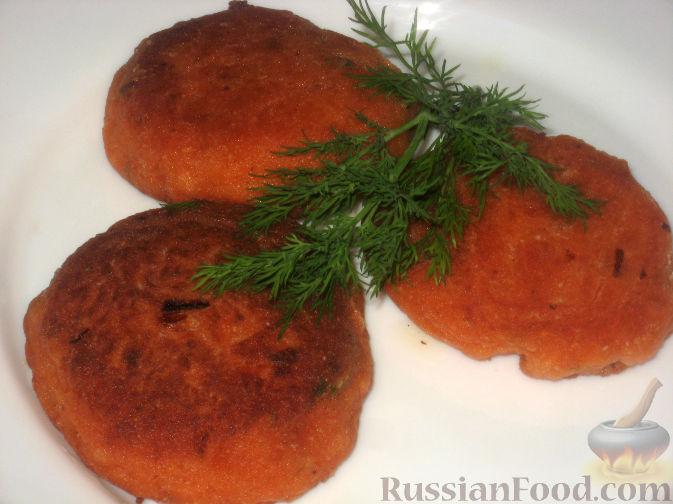 Рецепт Постные рыбные котлеты из семги