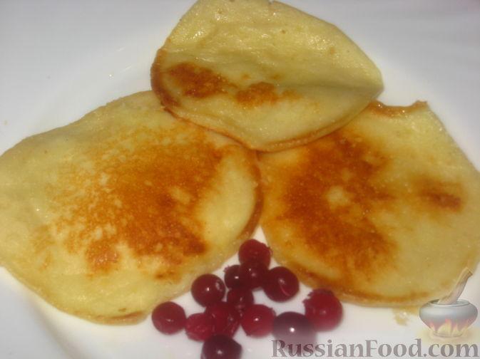 Рецепт Постные оладушки на газировке