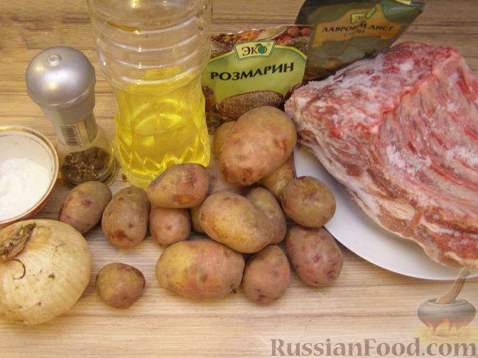рецепты приготовления мяса свинины в духовке с картофелем
