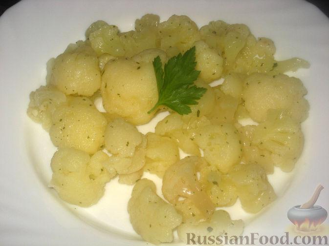 Рецепт Острый закусочный салат из цветной капусты