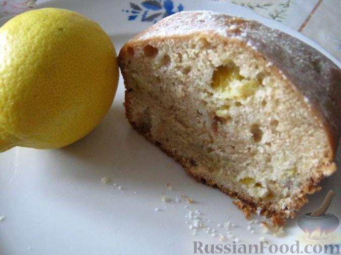 Рецепт Кекс лимонный с корицей