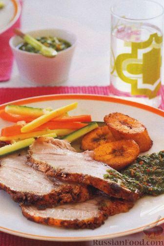 Рецепт Свиная лопатка, запеченная в духовке
