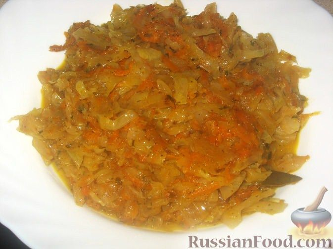 Рецепт Начинка из свежей капусты для пирогов и пирожков