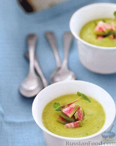 Рецепт Быстрый суп-пюре из авокадо