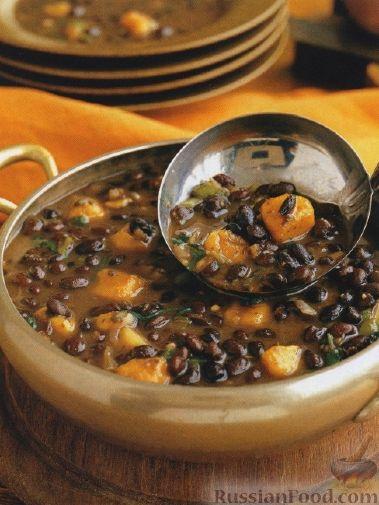 Рецепт Карибский фасолевый суп