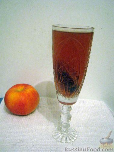 Рецепт Компот из яблок и клюквы