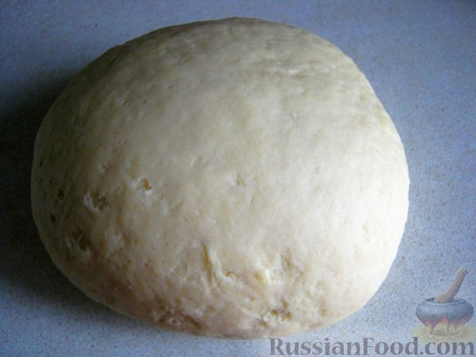 Рецепт Бездрожжевое тесто