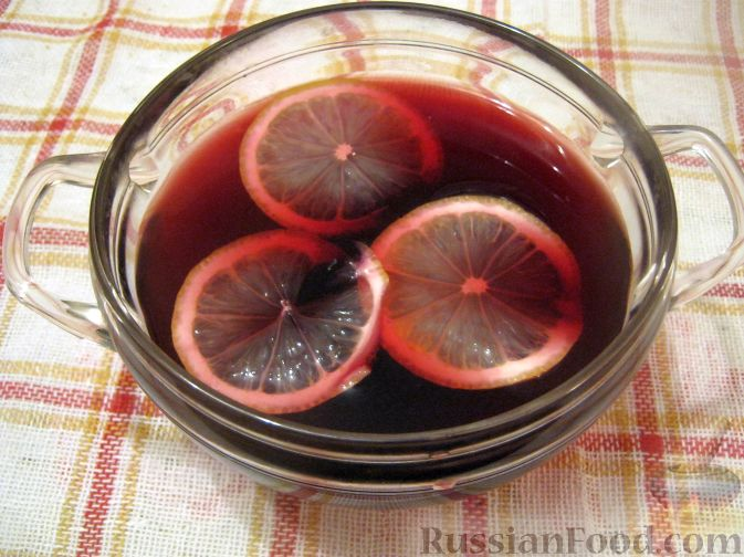 Рецепт Пунш «Красное вино»