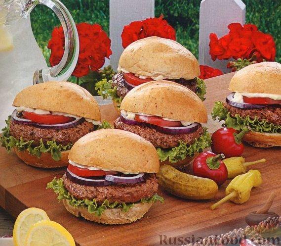 Рецепт Бургеры с ароматными травами