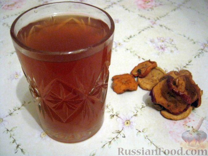 Рецепт Компот из смеси сухофруктов
