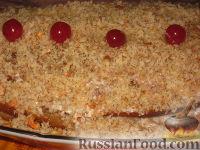 Фото к рецепту: Ореховый медовик