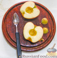 Фото приготовления рецепта: Нежный яблочный пирог-торт - шаг №2