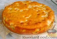 Фото приготовления рецепта: Нежный яблочный пирог-торт - шаг №9